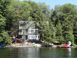 muskoka beach house s w exposure on lake vrbo
