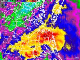 Virginia Beach Flood Map by Heavy Rainfall From September 19 22 2016