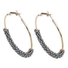 earring hoops yyw hoop earring wholesale lot glass seed charms designs