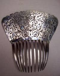 antique hair combs 918 best combs images on hair ornaments vintage hair