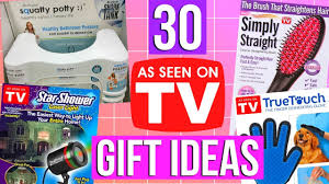 30 as seen on tv christmas gift ideas youtube