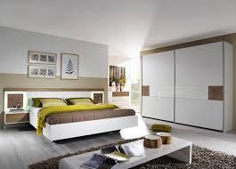 Schlafzimmer In Angebot Schlafzimmer In Sandeiche Nb Mit Abs In Weiss Hochglanz Bett Mit