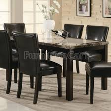 Granite Top Dining Table Set - dining room antique dining rooms granite top dining table high
