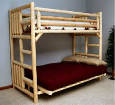 Wood Futon Bunk Bed Futon Bunk Bed Wood Interior Design Small Bedroom