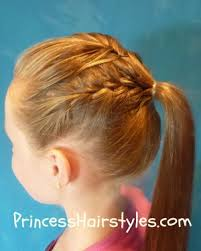 gymnastics picture hair style gymnastics hair french braid ponytail hairstyles for girls