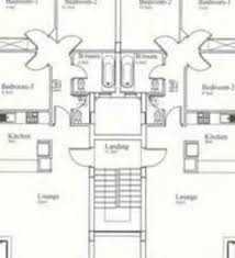 Floor Plan 4 Bedroom Bungalow Residential House Plans 4 Bedrooms 4 Bedroom 2 Bath House Plans