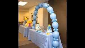 Balloon Centerpiece Ideas Baby Shower Balloon Decorations Ideas Home Baby Shower Balloon