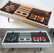 cassette tape coffee table for sale handcrafted nintendo nes controller coffee tables and they