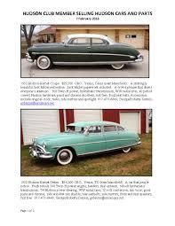 car ads 2016 1952 hudson hornet coupe and sedan for sale hudson essex