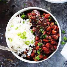 instant cuisine instant pot beans rice platings pairings