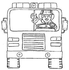 fireman coloring contegri