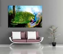 Peacock Living Room Decor Online Get Cheap Peacock Abstract Art Aliexpress Com Alibaba Group