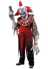 scary clown costumes smiley the clown creature reacher costume scary clown costumes