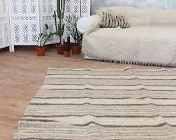Scandinavian Area Rugs by Pink Peach Area Rug Scandinavian Home Decor Wool Area Rug