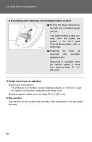 Resuming 2012 Toyota Matrix Driving Systems