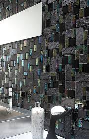 Kitchen Backsplash Glass Tile by Best 10 Black Backsplash Ideas On Pinterest Teal Kitchen Tile