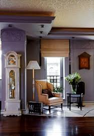 deco home interior traditional and deco apartment with lilac and plum violet
