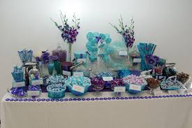 Tiffany Blue Candy Buffet by Blue Candy Buffets Bitsy Bride