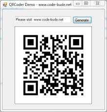 Qr Code Generator Qrcoder An Open Source Qr Code Generator Implementation In C