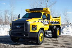 2016 ford f 750 tonka dump truck concept shown at ntea show