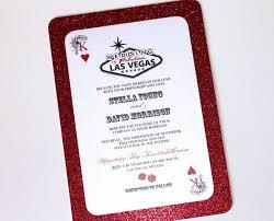 wedding invitations las vegas stella las vegas glitter wedding invitation casino invitation