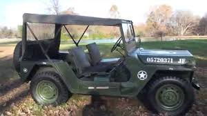 ford military jeep hd video 1967 military jeep m151 army navy air force a1 a2