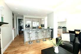 amenagement salon cuisine 30m2 decoration cuisine americaine salon amenagement 30m2 pour idees de