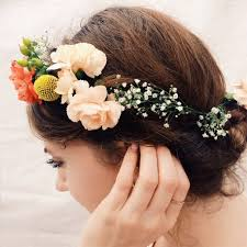 floral headpiece diy floral headpieces tutorial for summer