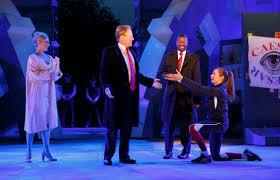 julius caesar public theater production was hanging fruit time