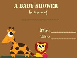 Free Baby Shower Invitation Cards Photo Free Baby Shower Invitation Image