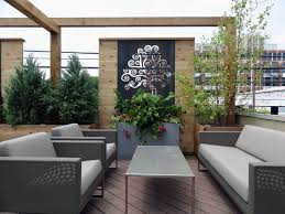 Backyard Screens Outdoor by Roof Deck Privacy Screen Outdoor Furniture Urban Garden