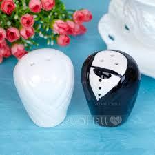 home design bride amp groom ceramic salt pepper shakers with