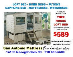Bunk Bed With Play Area by Bunk Beds U2013 San Antonio Mattress U0026 Futon