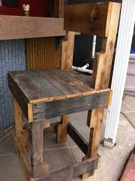Kitchen Island Made From Reclaimed Wood 37 Best Bar Stools Images On Pinterest Bar Stools Pallet
