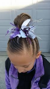 gymnastics picture hair style gymnastics hair braids little girls hair pinterest