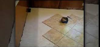 how to tile a kitchen floor with a border interior design