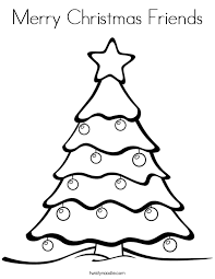printable merry christmas coloring pages for kids best coloring