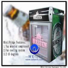 2017 50l desk top display cooler fridge energy drink fridge