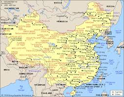 map of china and cities of china city physical province regional
