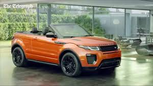 convertible land rover cost range rover evoque convertible driven does it sparkle