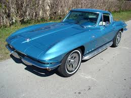 vintage corvette blue chevrolet chevy for sale