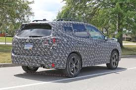 subaru forester lowered 2019 subaru forester spied testing on public roads autoguide com