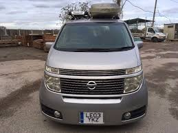 nissan box nissan elgrand automatic 3 5 fresh import 8 seats seater
