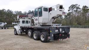 manitex 40100s 40 ton boom truck crane for in houston texas on