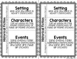 5th grade fiction reading passages best 25 fiction anchor chart ideas on exle of