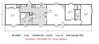 2 Bedroom Single Wide Floor Plans Double Wide Log Mobile Homeclayton Mobile Home Floor Plans
