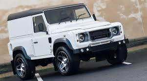land rover kahn kahn shows own idea of more modern looking land rover defender diesel