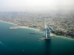 free stock photo of coastline of dubai with the burj al arab