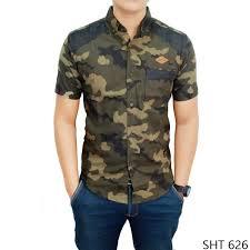 desain jaket warna coklat kemeja loreng flanel flanel loreng sht 626 elevenia