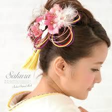 hair decoration soubien rakuten global market two hair ornament set coming of